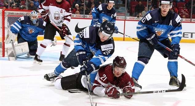 Finns finish off Latvia